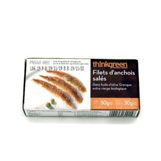 """""""Filets d'anchois pêche artisanale Grèce - Épicerie Valvini - aliments sains, éthiques dans une épicerie de proximité, Rossinière, Vaud et au marché de Carouge à Genève"""""""